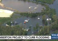 Following Florence, long-awaited project on track to prevent flooding in Lumberton