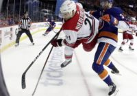 Hurricanes get 1-0 overtime victory against Islanders in first game of second round