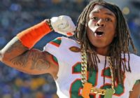 Who is Sheldrick Redwine, the Miami Hurricanes safety drafted by the Cleveland Browns?