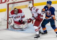 Weary Hurricanes ask Petr Mrazek to win one for them and he does
