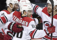 Carolina Hurricanes' Teuvo Teravainen following win over Islanders: 'We just grind it out '