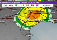 Timeline: When to expect rain, storms this weekend | Severe weather threat north of Houston