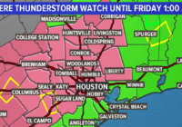 Houston weather: Flash flood warning in effect for several counties