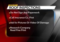 Troubleshooter: Watch out for companies offering free roof replacement after storm damage