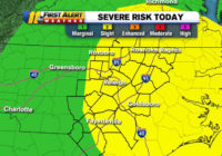First Alert: Raleigh, Fayetteville areas at risk for severe weather Friday