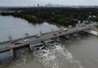 Two floodgates opened at Longhorn Dam in East Austin after recent flooding