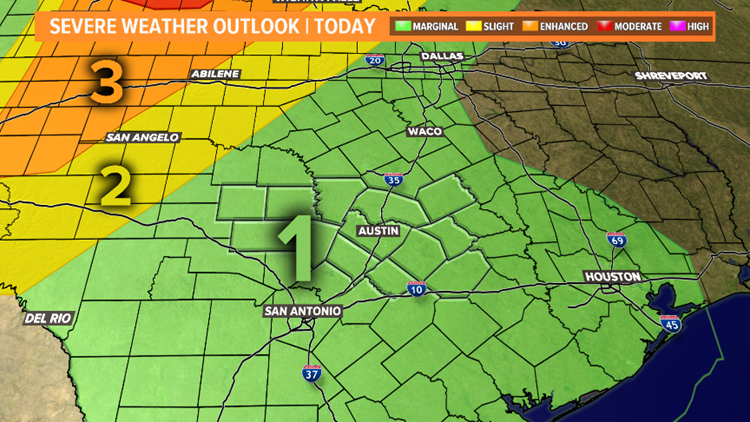 Severe Weather Outlook Today