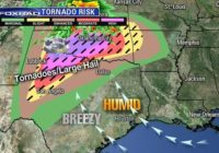 Tornado outbreak highly likely from Texas to Okla.
