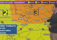 FORECAST: Flash flood and severe weather threat Wednesday