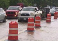 Flooding damages some parts of Kingwood HS