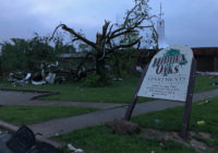 Door-to-door checks after tornado damage in Missouri capital