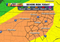 Severe weather: Storms, damaging winds, to push into Raleigh, Fayetteville areas Thursday afternoon