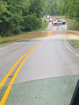 Flooding in Rolesville