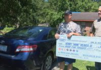Vet receives a free roof after losing one to Florence