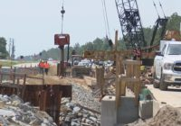 US 421 bridge work continues after Florence washout