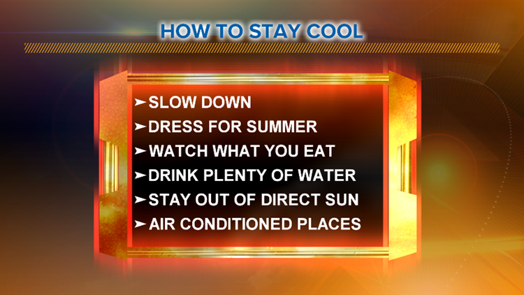 How to stay cool