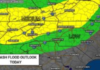 Panovich: Strong thunderstorms will bring heavy downpours, risk of flooding to Carolinas