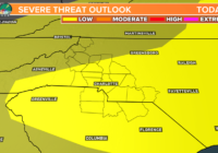 Damaging winds, hail possible with Friday storms in Charlotte, Piedmont region