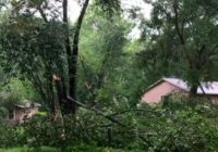 National Weather Service says two tornadoes touched down in Triangle