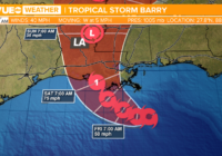 Tropical Storm Barry forms in the Gulf