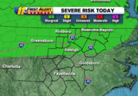 Wake County at risk for severe weather Thursday