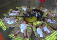 Fire department welcomes 12 babies after devastating wildfire