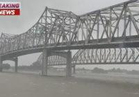 Barry makes landfall near Intracoastal City, Louisiana; Downgraded to tropical storm
