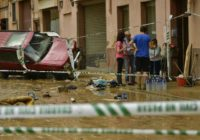 Flash floods wash away car, driver found dead in Spain