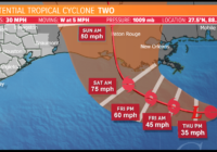 Tropical Storm Barry forecast: Landfall likely in Louisiana overnight