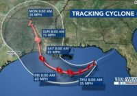 Potential Tropical Storm Barry expected to make landfall in Louisiana Saturday