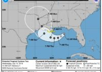 Texas 'not out of the woods': Forecast cone predicts possible hurricane landfall on Louisiana border