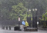 The Latest: Barry prompts new flash flood warnings in South