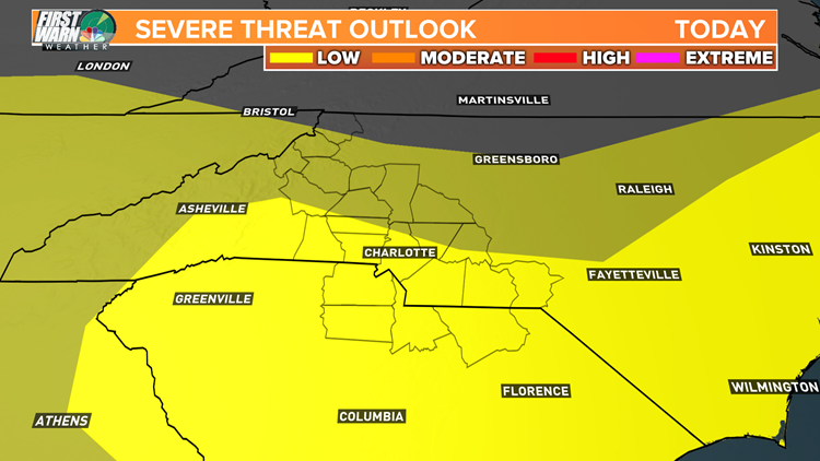LOW SEVERE STORM THREAT