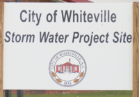 Cutting down on some, but not all flooding in Whiteville