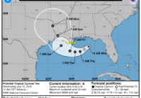 Gulf Disturbance Expected to be a Hurricane at Landfall