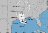 Soon-to-Be Tropical Storm Barry on a Path for Louisiana