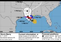 Tropical Storm Barry Forecast to Hit Louisiana