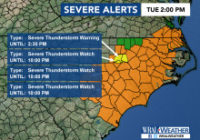 Thunderstorms likely, flooding possible through afternoon, evening in the Triangle