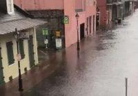New Orleans floods as Gulf Coast braces for rain