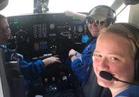 Historic female crew flies Hurricane Dorian reconnaissance mission for NOAA