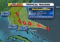 Hurricane Dorian track update: Storm heads toward Florida, strengthens to Category 4