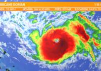 Hurricane Dorian now a major hurricane, more strengthening forecast