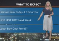 Houston Forecast: Heavy storms, isolated street flooding possible this weekend