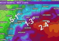 Houston Forecast: Heavy rain and flooding possible this weekend