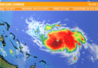 Hurricane Dorian to strengthen as it approaches Florida
