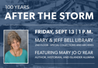 '100 Years After the Storm,' Island University Hosts Forum to Remember the 1919 Hurricane