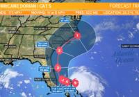Hurricane Dorian intensifies to strong category 5 hurricane