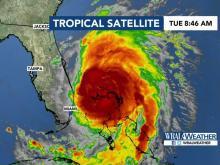 8 a.m. update: Hurricane Dorian begins crawling toward East Coast