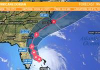 Hurricane Dorian brings strong winds along Florida's east coast