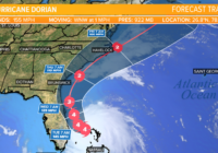 Hurricane Dorian weakens to a still dangerous category four